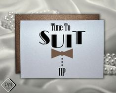 Will you be my best man wedding card invitation funny groomsmen card asking be my groomsman time to suit up fun way to ask -Chocolate Style