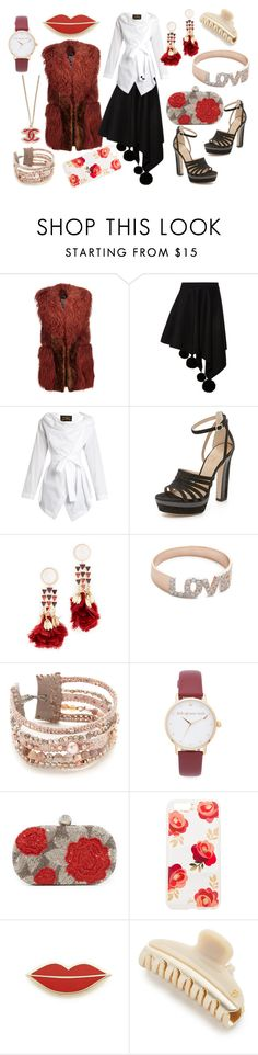 """""""Unique Attire"""" by hillarymaguire ❤ liked on Polyvore featuring Just Cavalli, Marni, Vivienne Westwood Anglomania, Tamara Mellon, Tory Burch, Kismet by Milka, Chan Luu, Kate Spade, Santi and Sonix"""