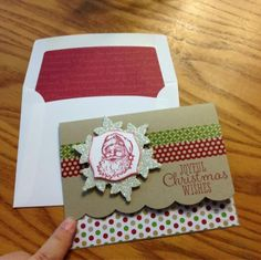 Best of Christmas Best of Christmas....could do this one with modifications.....creche on snowflake, vellum stripes behind, message on front. Simple inside that shows, dsp.....message inside