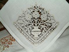 Aemilia ars ~ reticello style needle lace