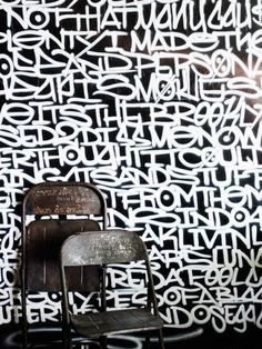Graffiti wall, Graffiti and Black and white on Pinterest