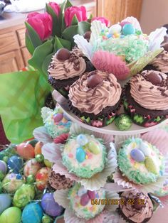 Ooo la la - The Not-Leaning Tower O' Easter Yummies!
