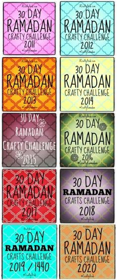 My daughters and I have really enjoyed sharing our Ramadan crafts 30 day challenge with you for the past eight years. We are thrilled to once again start up our…