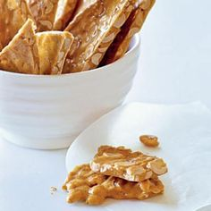 Chipotle Peanut Brittle Comfort Food Recipe