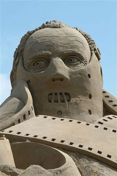 funny sand sculptures - Google Search