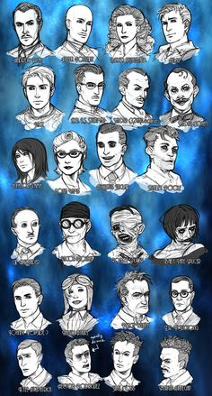 BIOSHOCK CHARACTER SKETCHES by ~Pirate-Cashoo on deviantART
