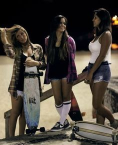 long boarding  girls! I need to learn how.Found on pinterest.com via searchengine-s.com