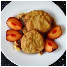 Biscuiți cu măr copt, nucă și scorțișoară