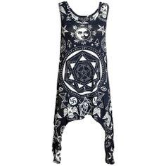 Occult Racerback Dress [B] | KILLSTAR