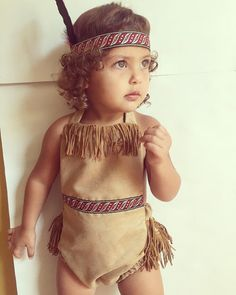 Pocahontas princess romper by PookieWear on Etsy