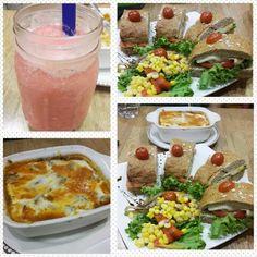 Invitaciones que me encantan. celebrando otro mes más #15M   Mi cena fué un club sándwich que tiene: Pan artesanal, queso, huevo, pollo, lechuga, tomate. Acompañado de una deliciosa ensalada de maíz, pimentón, garbanzo y cebollas caramelizadas.  Lasagna de berenjena para @jucalibe   De postre batido de durazno, cereza, melón y yogur griego    #DatosFit #IdeasFit #VidaSaludable #NoEsDieta #ComidaSaludable #Dinner #HealthyFood #HealthyLiving #GinaFit #GinaSaludable #ComidaSana #Smoothies…