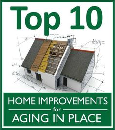 Picture of a home with a title of Home Improvements for Aging In Place