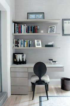 Home office and home study design ideas. Make the most of your extra space, whether you work from home, have a hobby or need an area for life admin Home Office Design, Home Office Decor, House Design, Home Decor, Office Style, Study Table Designs, New Room, Design Case, Small Spaces