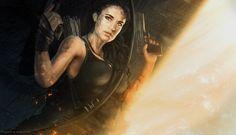 ArtStation - Lara Croft _ Tomb Raider, Istvan Straban
