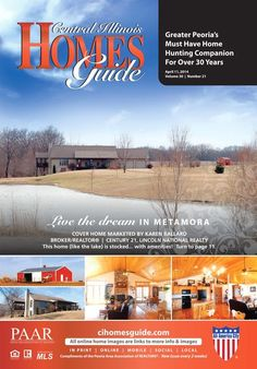 Not only will you find great homes in this issue but you will also find some cute bunnies!! Find the perfect home to make your nest. #realestate #homesforsale #Illinois