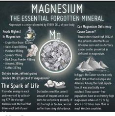 Magnesium (Mag) is one of the most crucial elements in our bodies. Mag activates over 300 enzyme reactions in the body equaling out to thousands of biochemical reactions happening on a constant basis. Mag is crucial to nerve transmission muscle contraction blood coagulation energy production nutrient metabolism & bone formation. Mag deficiency has even has been linked to inflammation in the body & higher CRP levels. Chronic Inflammation is ALWAYS the heralding factor in every chronic disease…