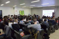 60 studenti dell'I.S.I.S di Gazzada in visita in Elmec per il progetto Simulimpresa.