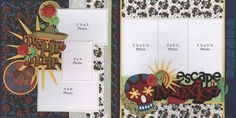 Celebrate with a cerveza! These fun pages are full of color and embellishments. A must-have for any trip south of...
