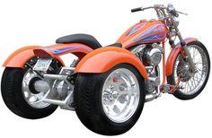 FRANKENSTEIN TRIKE CONVERSION KITS Harley-Davidson 4 Speed customer photos