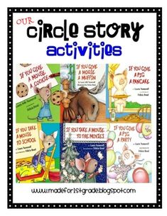 This unit includes 9 center activities that are themed around the characters in the Laura Numeroff
