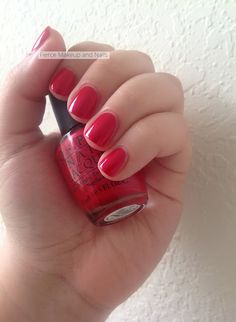 Fierce Makeup and Nails: OPI: The Color of Minnie
