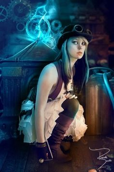 The strong sexual tempting Steampunk-Gothic-Cosplay girls arousing to sexual desire or imagination Steampunk Couture, Chat Steampunk, Steampunk Kunst, Style Steampunk, Steampunk Cosplay, Victorian Steampunk, Steampunk Clothing, Steampunk Fashion, Steampunk Artwork