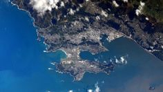 #mywellyview Kjell Lindgren snapped this photo of Wellington from the International Space Station by socialgraphy