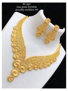 Gold Wedding Jewelry, Bridal Jewelry Sets, Gold Jewelry, Gold Necklace, Necklace Set, Jewelery, Gold Chain Design, Gold Bangles Design, Gold Jewellery Design