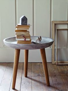 50 Υπέροχα τραπέζια και τραπεζάκια απο τσιμέντο!   Φτιάξτο μόνος σου - Κατασκευές DIY - Do it yourself