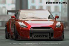Rocket Bunny V2 Aero - Nissan GT-R (R35) Front Bumper (only)