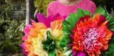 Kvety z krepového papiera, ktoré vám rozkvitnú pod rukami | DIY návod