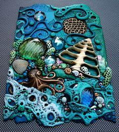 *POLYMER CLAY ~ Coral Fantasy by MandarinMoon, via Flickr
