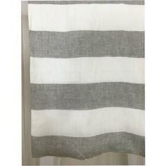 Grey and White Striped Linen Curtain cabana stripe curtains | Handcrafted by SuperiorCustomLinens.com (from http://ift.tt/2fRz7ec)   Double tab for more images.  #fortheloveoflinen #linen #linencurtain #tellmemore #interior4all #drapes #pureline #purelinenutrition #interiordecor #bedroomdecor #bedroominspiration #handmade #handmadebedding  #tailoredmade #instadaily #curtains #greyandwhite