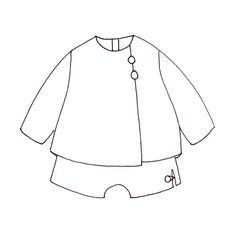 Galway Baby ( 6 mois au 3 ans ) et Seville ( 6 mois - 1ans ) Sewing Patterns For Kids, Sewing For Kids, Young Ones, Seville, Illustration, Projects, Inspiration, Fashion, Paper Pieced Patterns