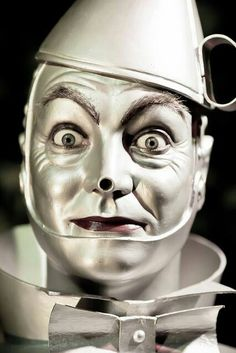 The Tin Man ~ Wizard of Oz, 1939 ❤ Please visit my Facebook page at: www.facebook.com/jolly.ollie.77