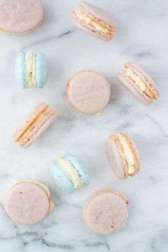 french macarons with buttercream | Appetites Anonymous