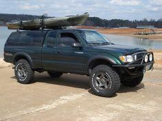 BFG 255/85/16 Mud KM2's on Tacoma factory wheels!