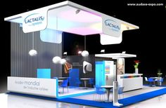 Lactalis, Réalisation Audace Expo, standiste, Nantes, Paris, #stand