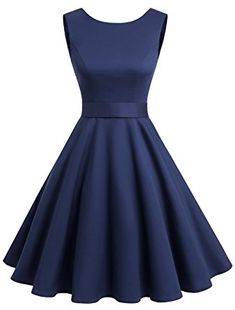 Wedtrend Women's Rockabilly Audrey Dress Polka Dots Cocktail Retro Swing Dress at Women's Clothing store: Cute Prom Dresses, Grad Dresses, Dance Dresses, Pretty Dresses, Homecoming Dresses, Beautiful Dresses, Dress Outfits, Fashion Outfits, African Fashion Dresses