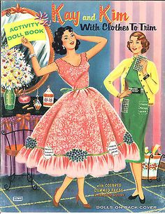 VINTGE 1950S BALLET PAPER DOLL ~ADORABLE 8 PG LASER REPRODUCTION~ORIG SIZE UNCUT