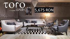 Kali living, parte a colecției #TOROLuxury, este un set plin de eleganta potrivit pentru decorurile luxoase.  Rezervari si comenzi: 0746 661 384    Prețuri Kali living:  1 canapea- 5,675 RON  1 fotoliu- 2,385 RON  1 masa de centru- 2,303 RON  1 masa cafea- 1,727 RON