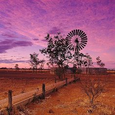 Picturesque sunset taken on the Barkly Highway from Mount Isa to Camooweal by Landscape Tattoo, Landscape Art, Landscape Paintings, Visit Australia, Western Australia, Sunset Tattoos, Destinations, Airlie Beach, Life Paint