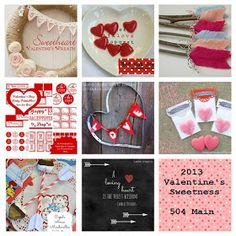 Valentines Projects Round Up