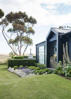 This sophisticated yet naturalistic garden by landscape designer Ben Scott has a harmonious medley of elements and a sense of calm befitting its setting on Victoria's Mornington Peninsula. Photo: Simon Griffiths.
