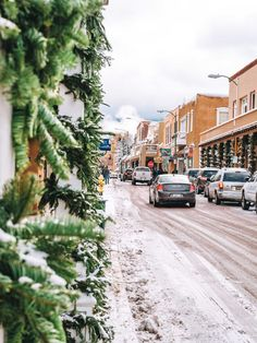 Warm Up in the Southwest: Why You Should Visit Santa Fe in the Winter Sante Fe New Mexico, Visit Santa, Canyon Road, New Mexican, Fes, Santa Fe, Installation Art, Beautiful Places, Places To Visit