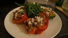 Healthy & Filling Cous Cous Stuffed Peppers - Weight Watchers Friendly!