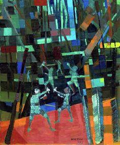 Portinari, Candido (1903-1962) - 1959 Boys With Slingshots (Christies New York, 2004) by RasMarley, via Flickr