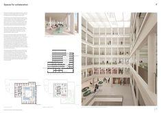 School of Architecture Design - portfolio Design Portfolio Layout, Architecture Portfolio Layout, Architecture Presentation Board, Portfolio Examples, Architecture Panel, Futuristic Architecture, Concept Architecture, School Architecture, Layout Design