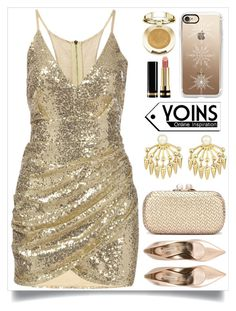 """Yoins (96)"" by itsybitsy62 ❤ liked on Polyvore featuring Casadei, Casetify, Gucci, Milani, yoins, yoinscollection and loveyoins"