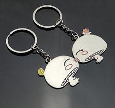 Omeny mignon cadeau en alliage métallique Champignon Lovers Porte-clés Porte -clés  Amazon 92a18acba23